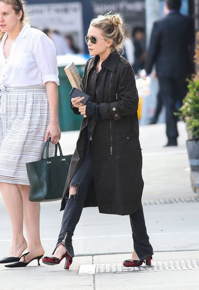 Mary+Kate+Olsen+Outerwear+Trenchcoat+Tp0nf6hI7Udl