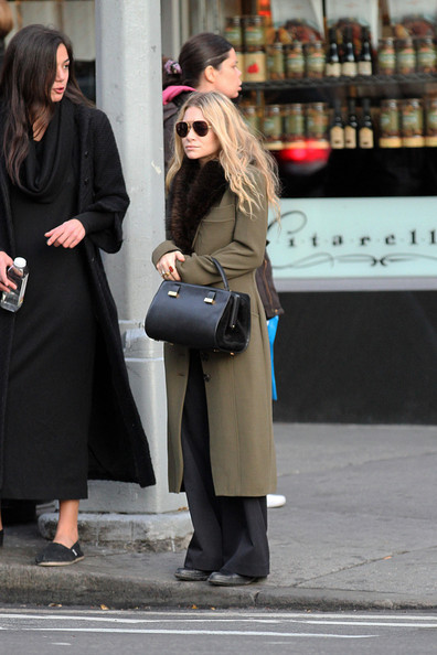 Mary+Kate+Olsen+Outerwear+Wool+Coat+ro7KwElKNTPl